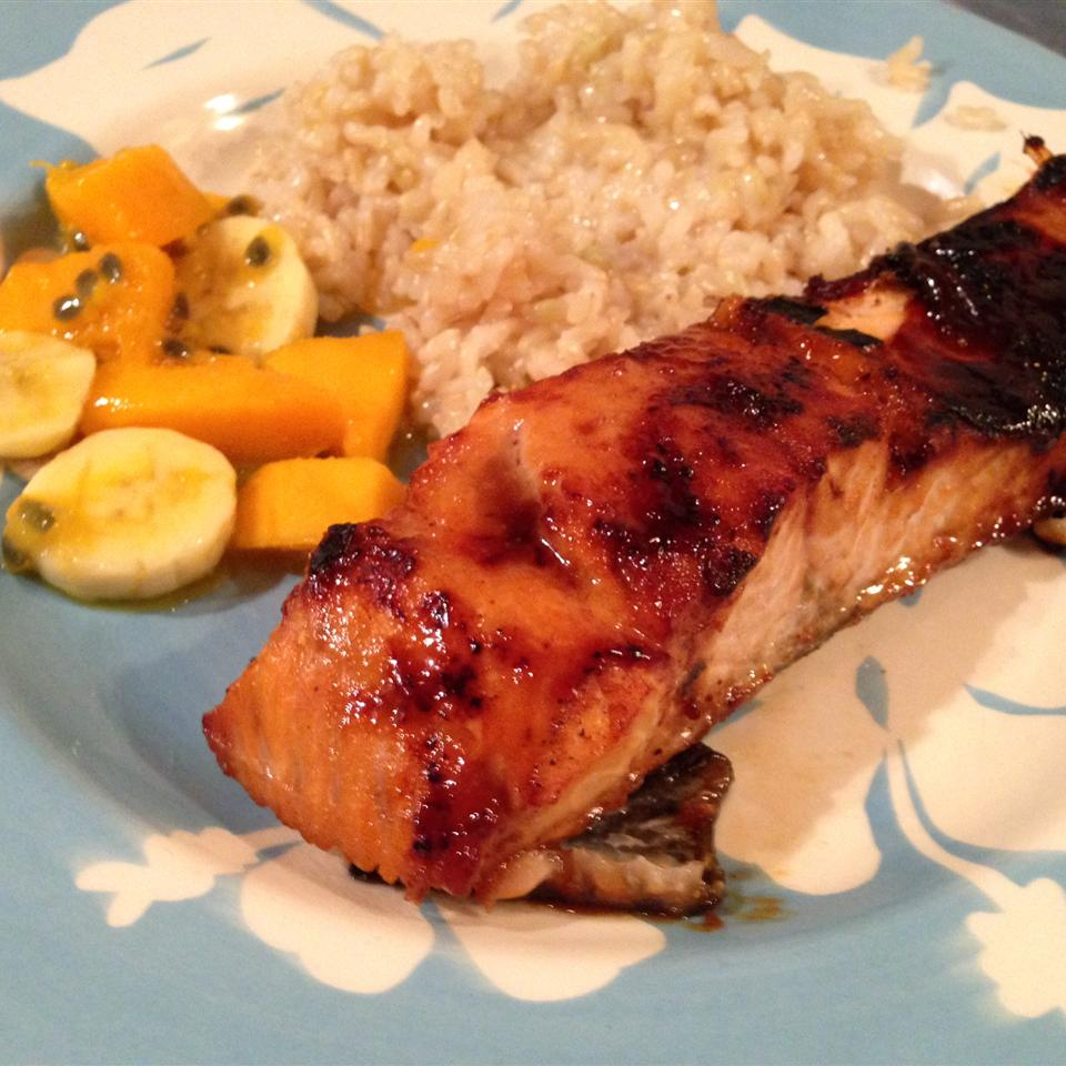 Salmon with Brown Sugar Glaze cereal