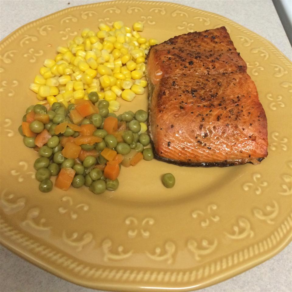 Lemon-Pepper Salmon II Lory Raye Marshall