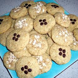 Coconut Oatmeal Cookies I onebelle