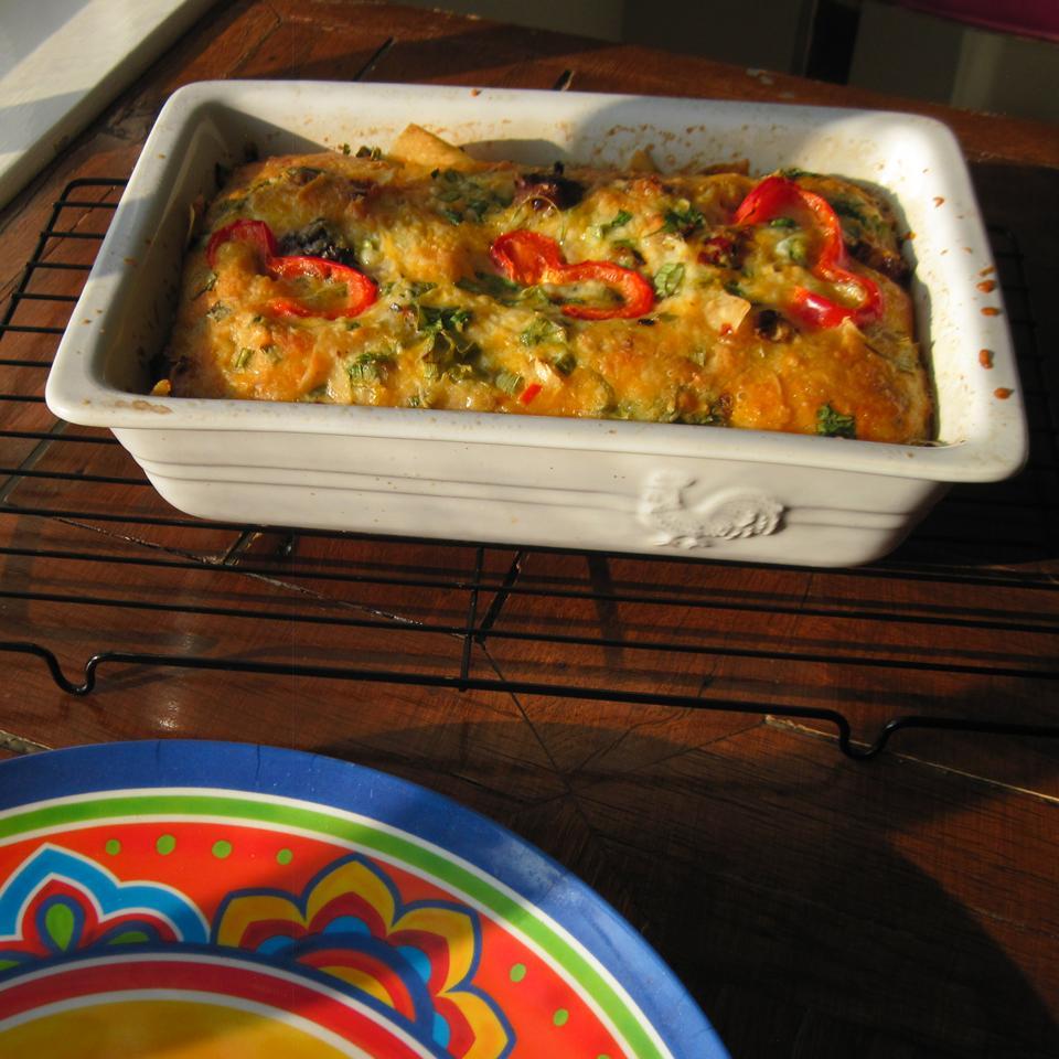Mexican Tortilla Breakfast Casserole Cynthia Ross