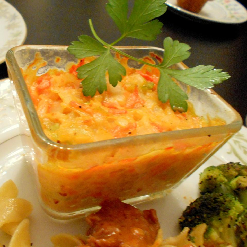 Cabbage-Carrot Casserole