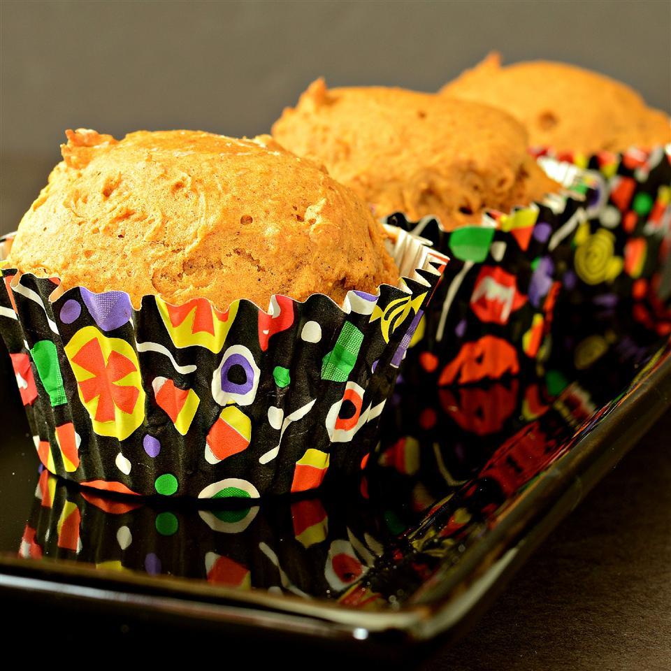 Easy Pumpkin Muffins (Low-Fat)