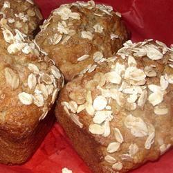 Oatmeal Banana Nut Bread Melissa Wilson Martin