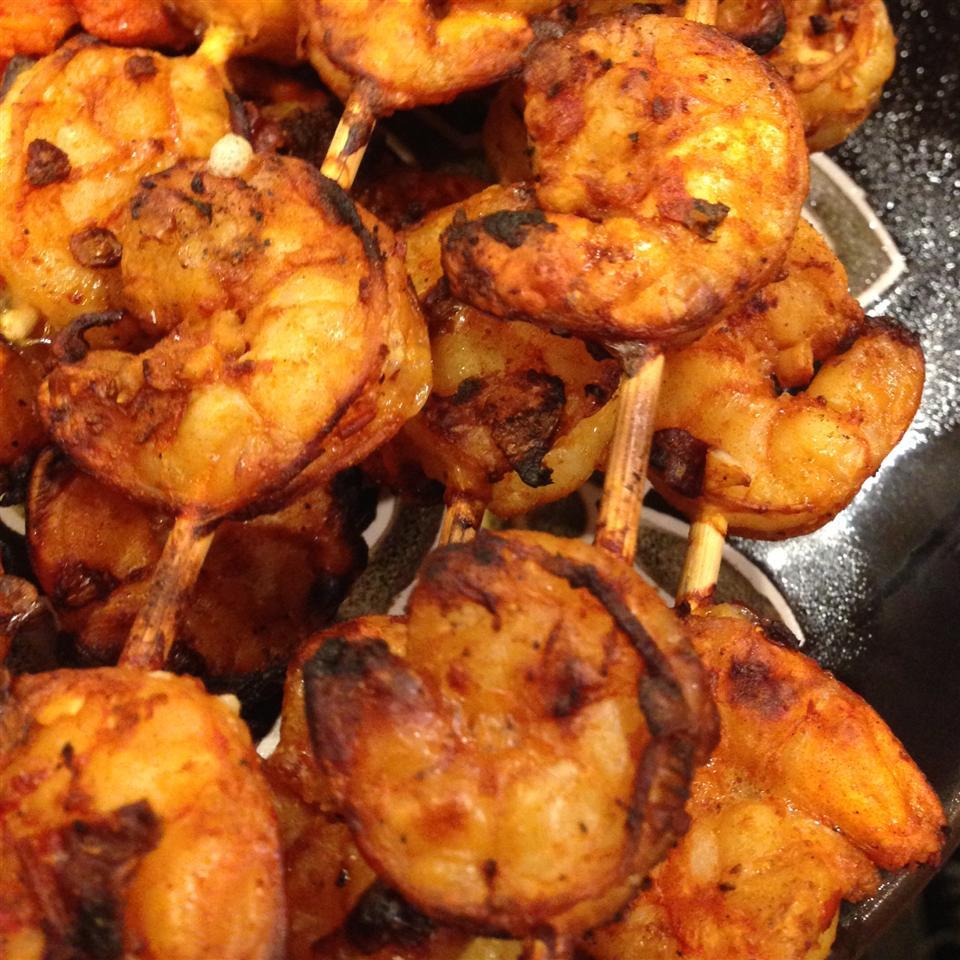 Spicy Chipotle Grilled Shrimp misajanee