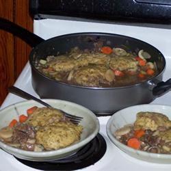 Beef Stew with Dumplings
