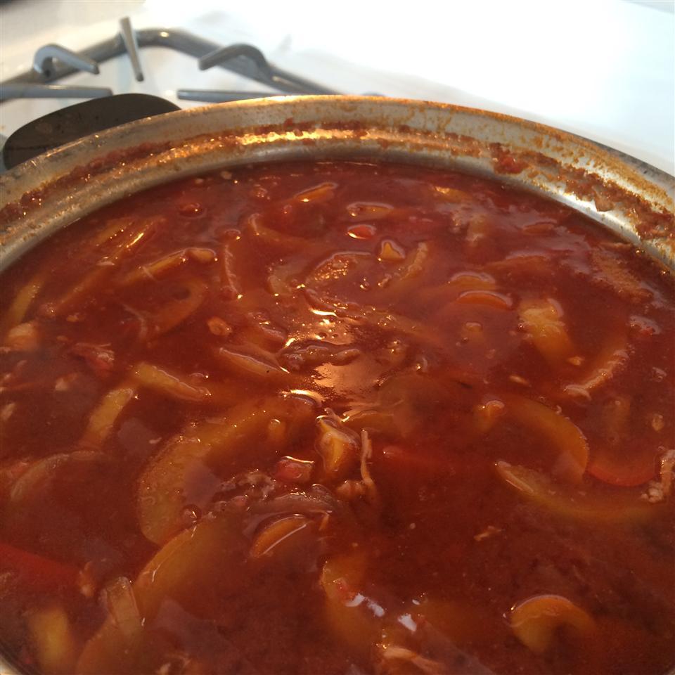 Easy Chicken Fajita Soup Marek