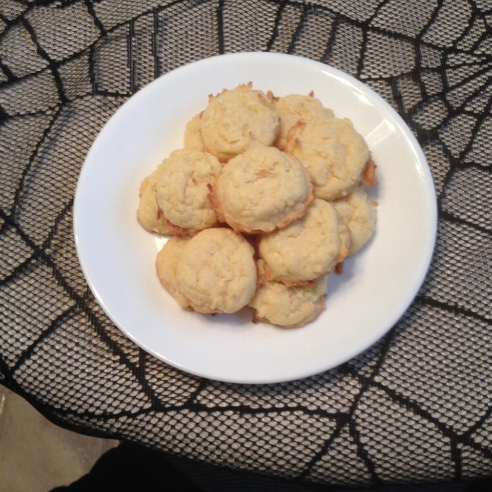 Easy Sweet Coconut Cookies Sally Handwerk Vercusky