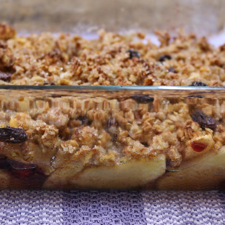Apple-Cranberry Crisp by PAM®