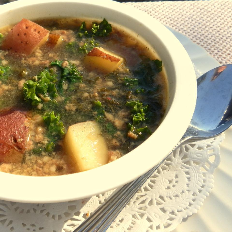 Simple Kale Soup