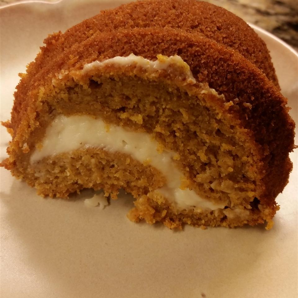 Gluten-Free Pumpkin Cream Cheese Cake Josie