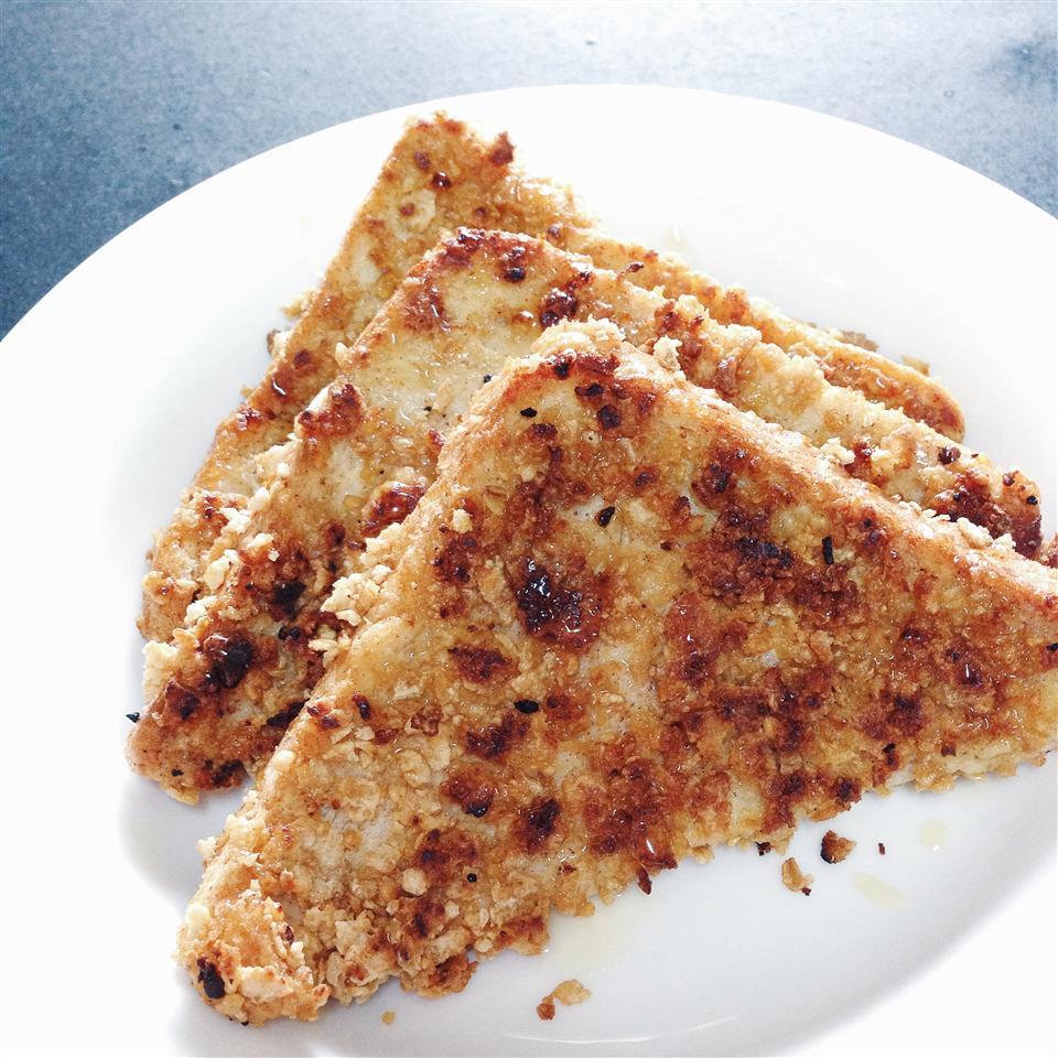 Crunchy Baked French Toast rennywijaya