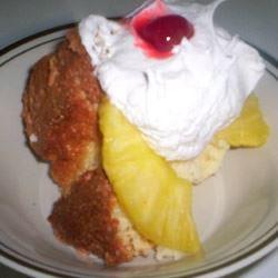 Pineapple Sponge Cake TANAQUIL