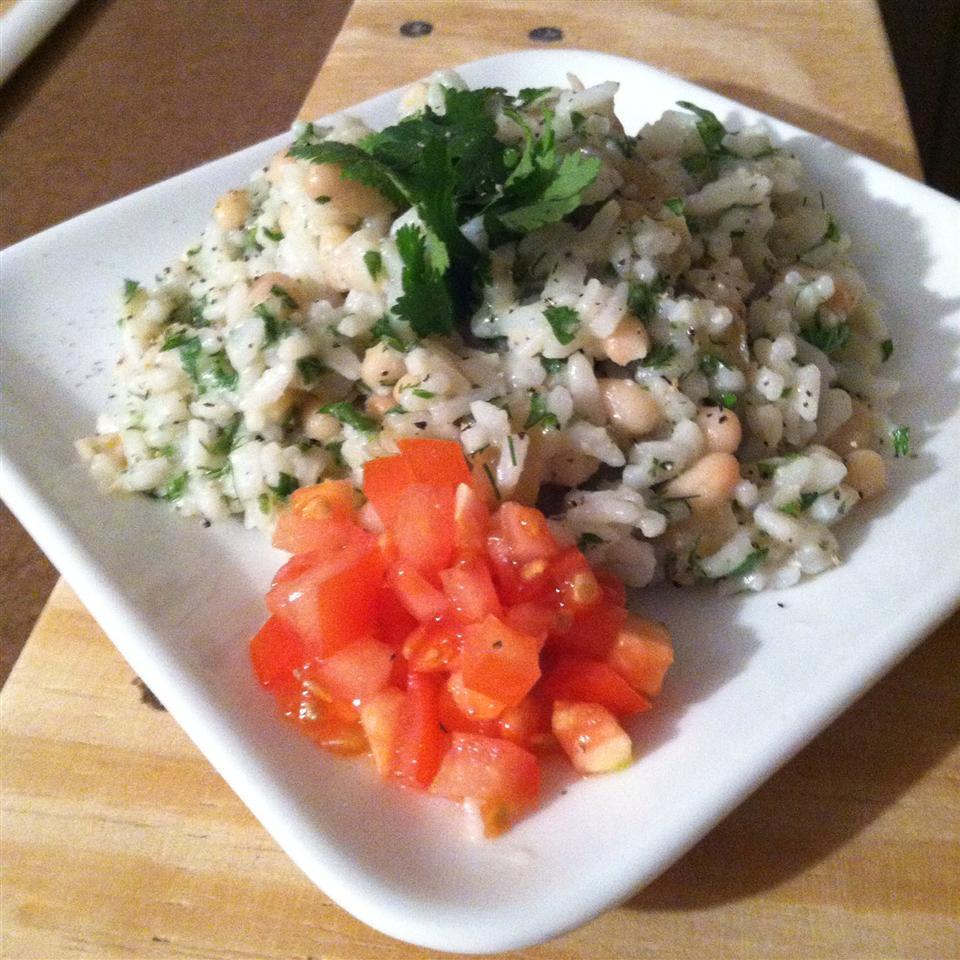 Persian Sabzi Polo (Herb Rice with Fava Beans) princessss