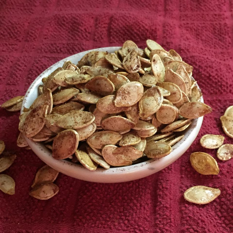 Sweet Vanilla Cinnamon Pumpkin Seeds