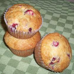 Cranberry-Cardamom Muffins CookinBug