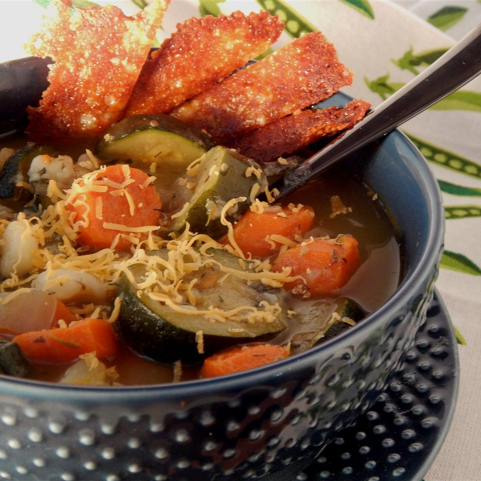 Garden Veggie Zucchini Soup