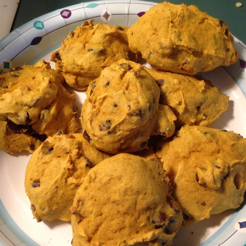 Pumpkin Chocolate Chip Cookies I Beth