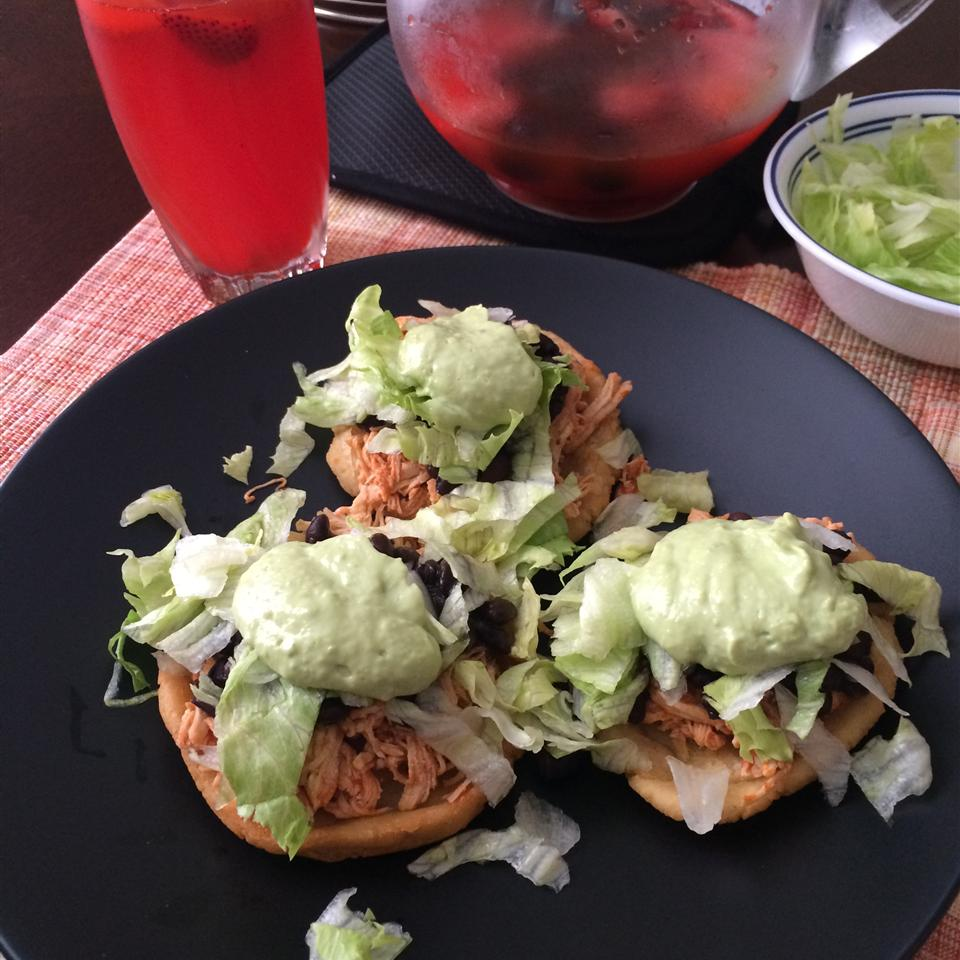 Easy Mexican Sopes yelmy