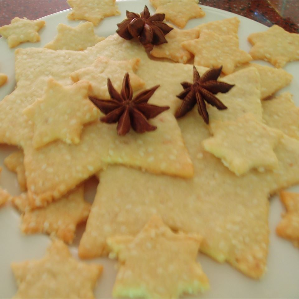 Golden Sesame Cookies Davina Sanders