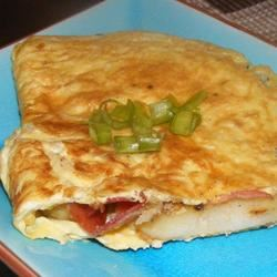 Bauernomlett (Farmer's Omelet) busymommy