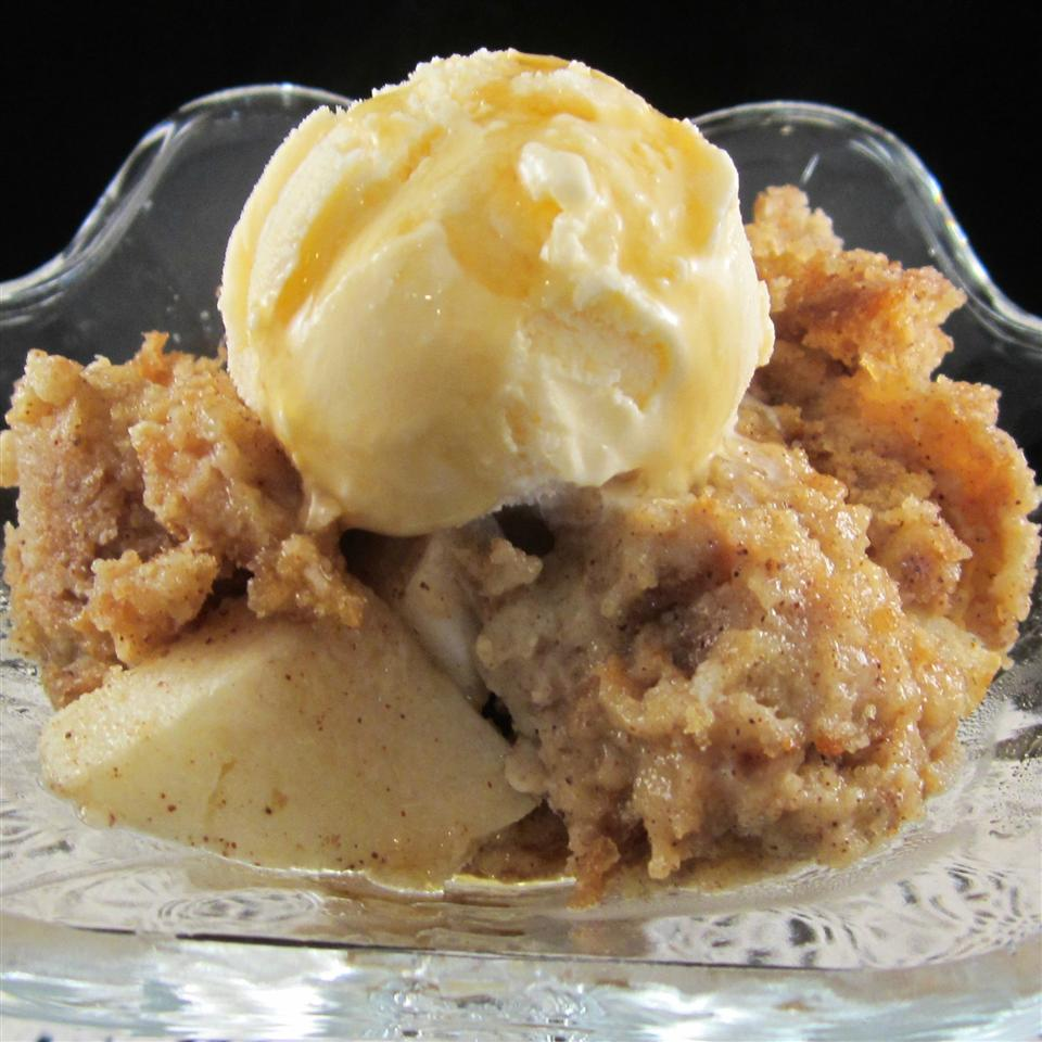 Cider Donut Bread Pudding