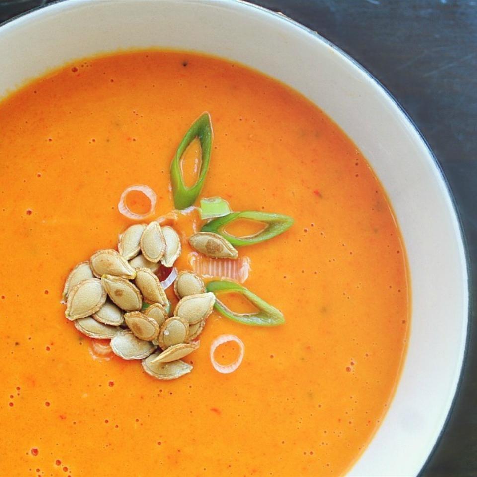 Red Curry Coconut Squash Soup dana.killingthyme