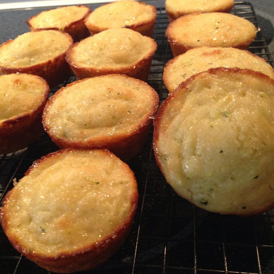 Lemon Zucchini Muffins Nicole Kelly