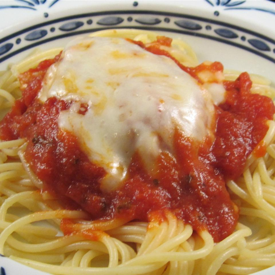 Quick Baked Chicken Parmesan ChristineM