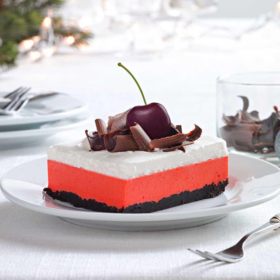 Cherry-Chocolate Layered Dessert Trusted Brands