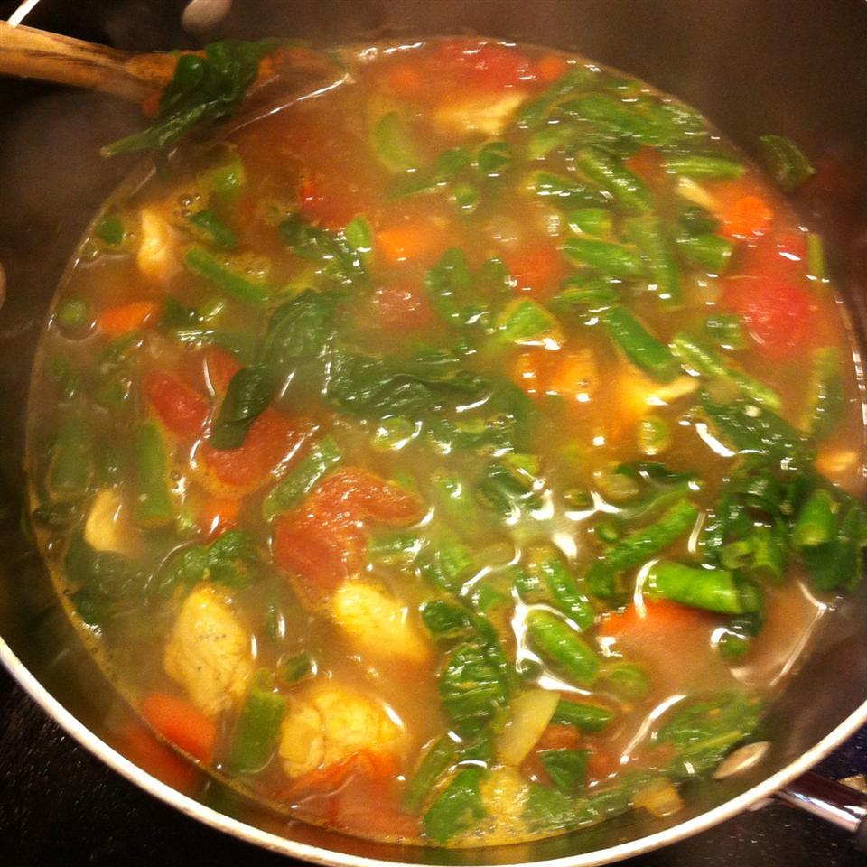 Chicken Veggie Soup II