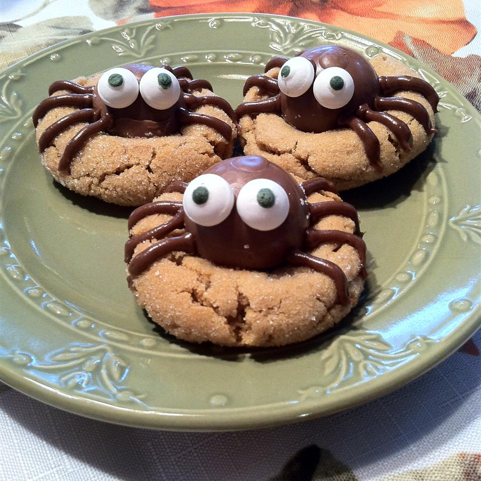 Peanut Butter Spider Cookies What's for dinner, mom?