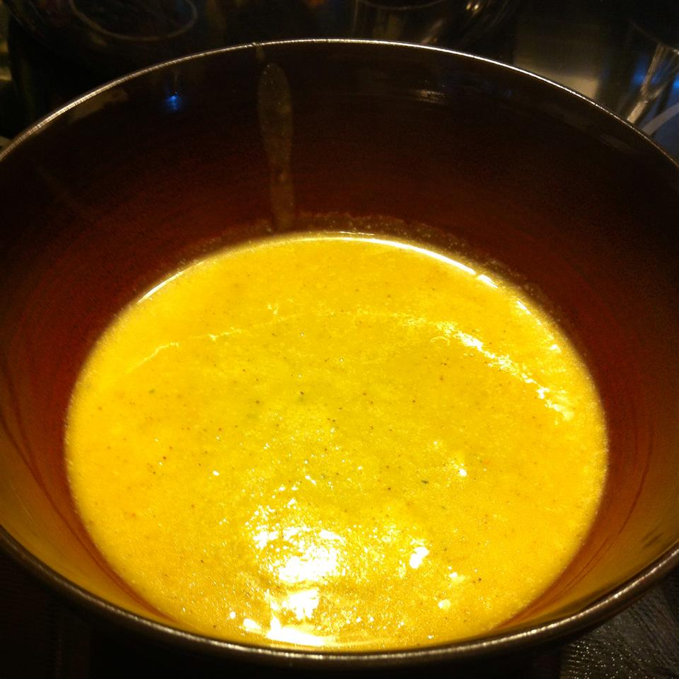Pumpkin Coconut Milk Soup