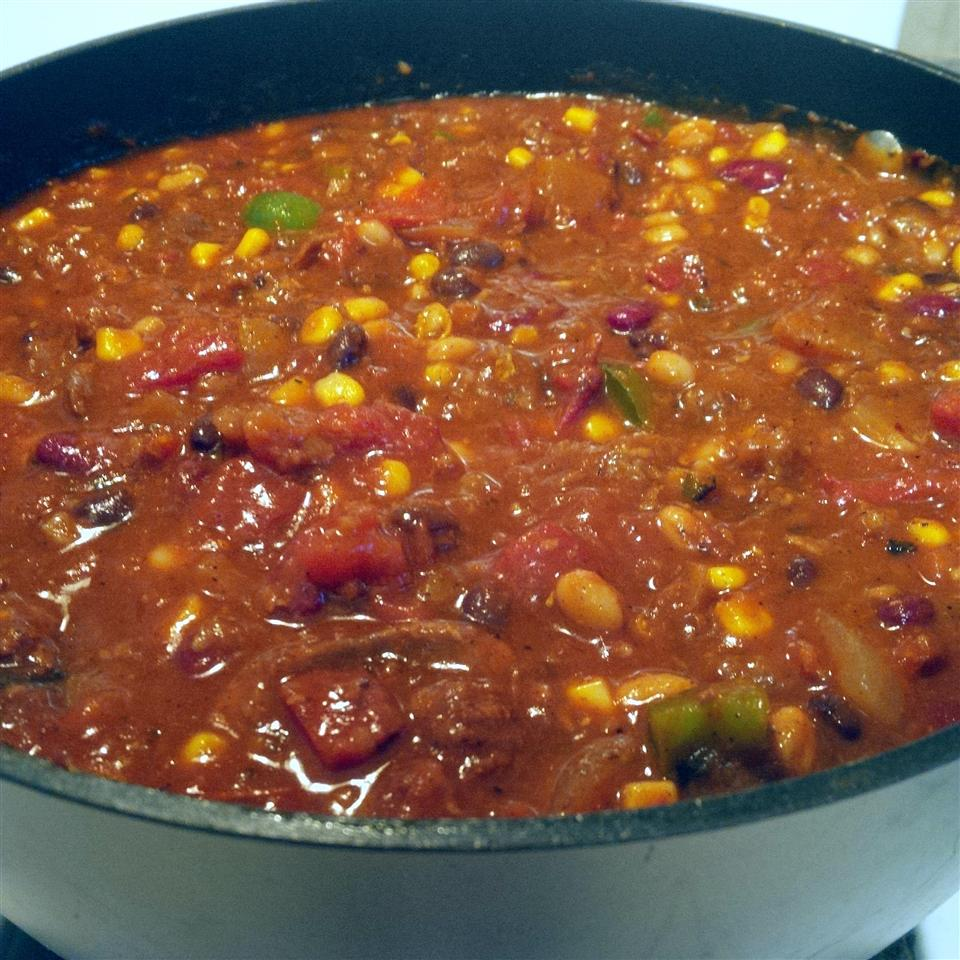 Spicy Pumpkin Chili