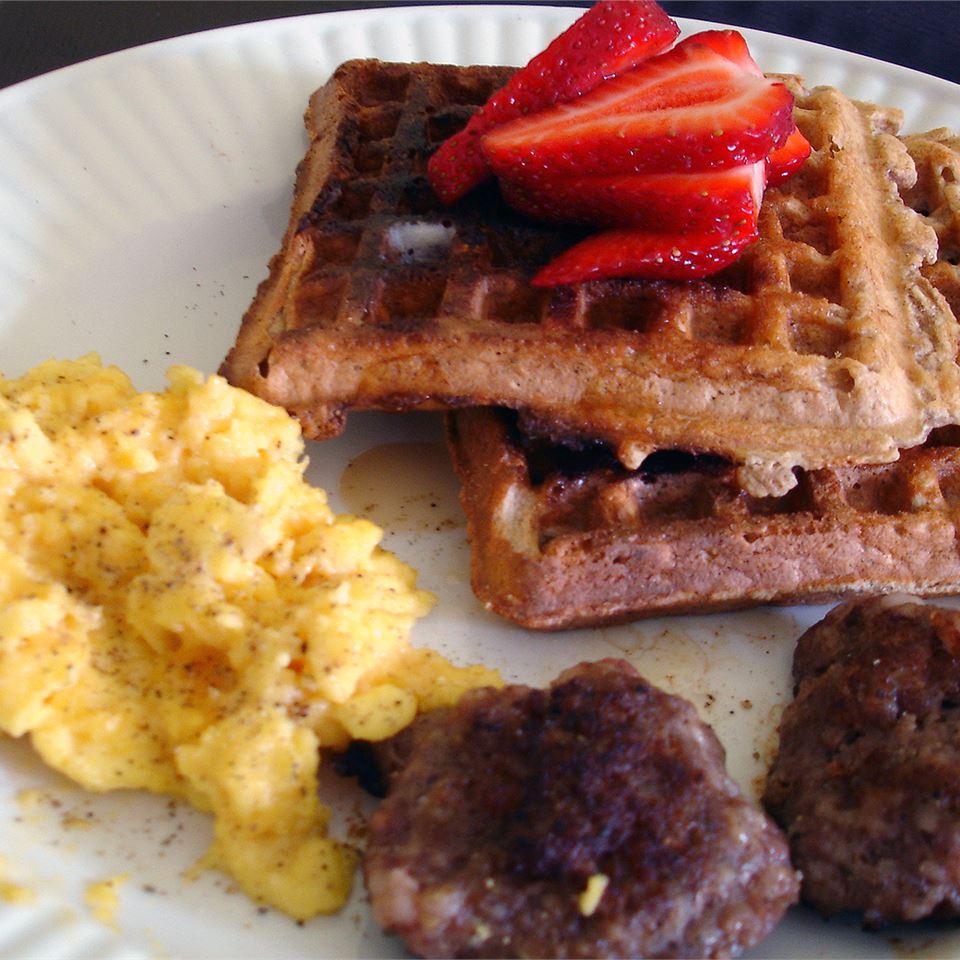 Whole Grain Waffles vv