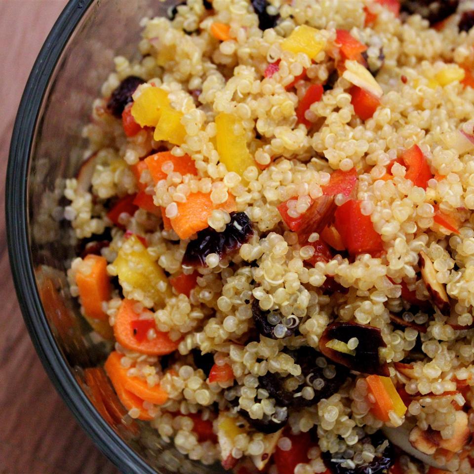 Cranberry and Cilantro Quinoa Salad KRISTENF30
