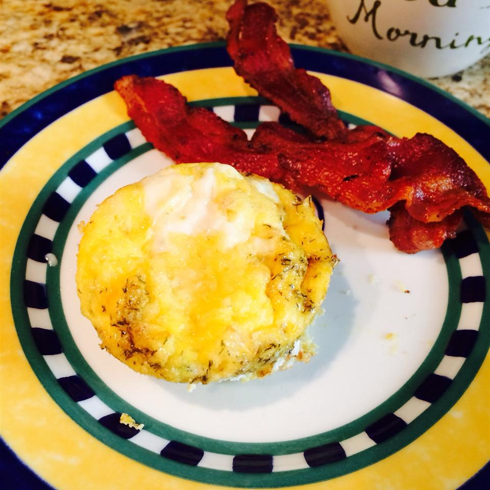 Eggs n Bacon Cupcake Jsteph299