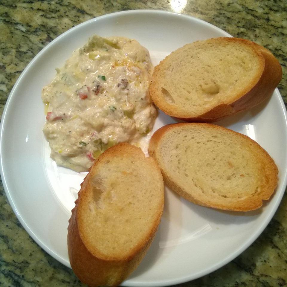 Baked Crab and Artichoke Dip