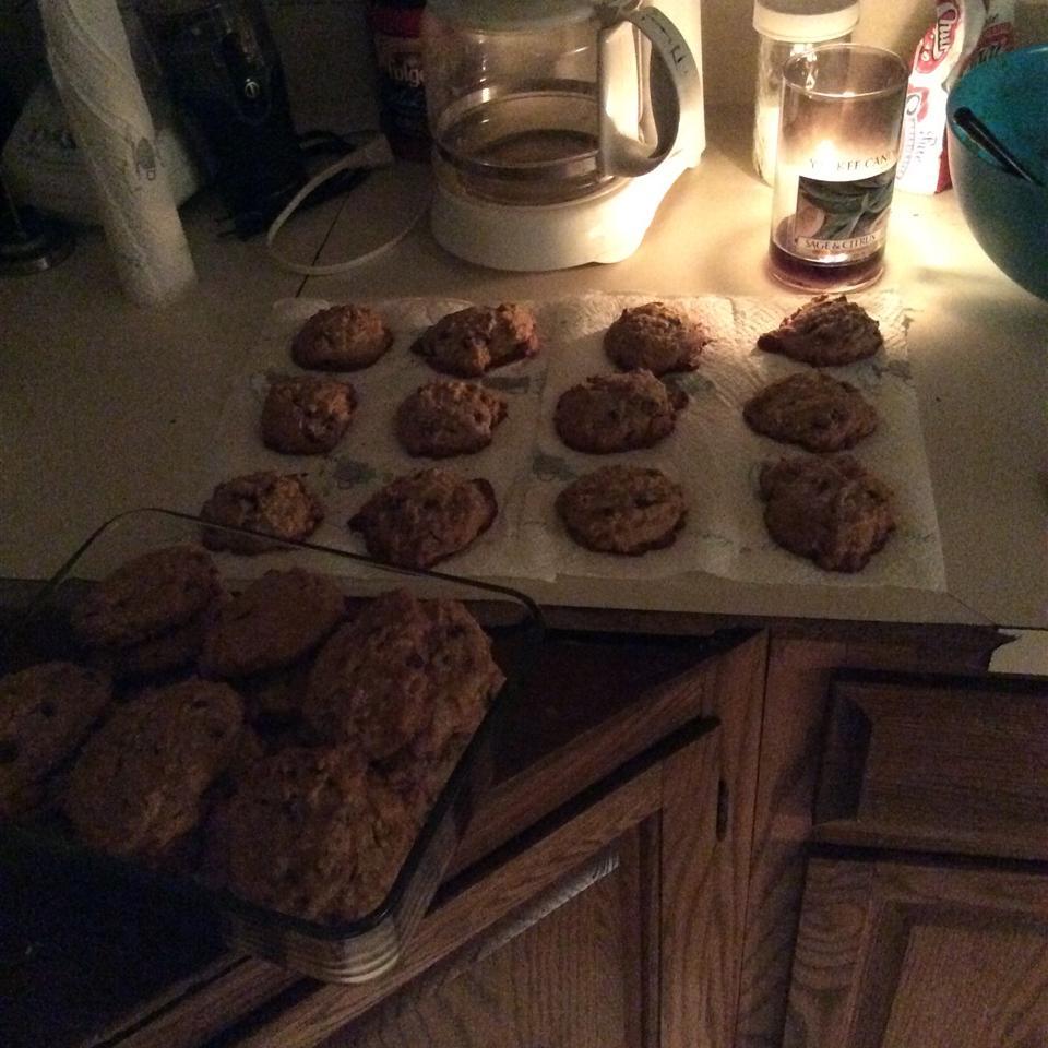 Pumpkin Oatmeal Chocolate Chip Cookies Kara Millette