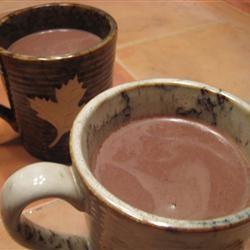 Creamy Hot Chocolate Rachel Hardy Cunningham