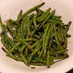 Japanese-Style Sesame Green Beans