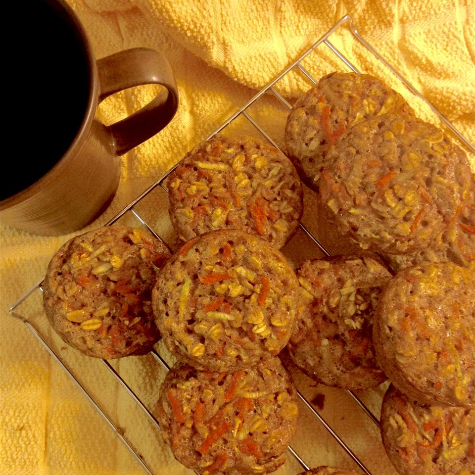 Toddler-Friendly Carrot and Zucchini Muffins
