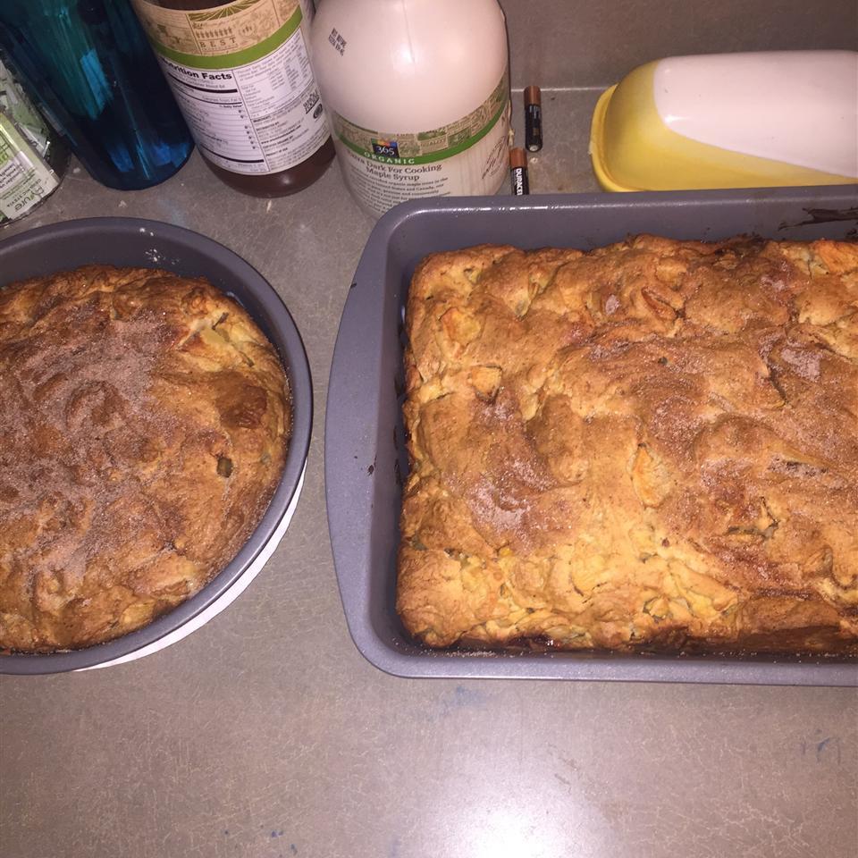 Cinnamon-Apple Cake AKA Hanukkah Cake