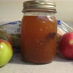 Apple Pie in a Jar Drink Cathy Nelson Reinert