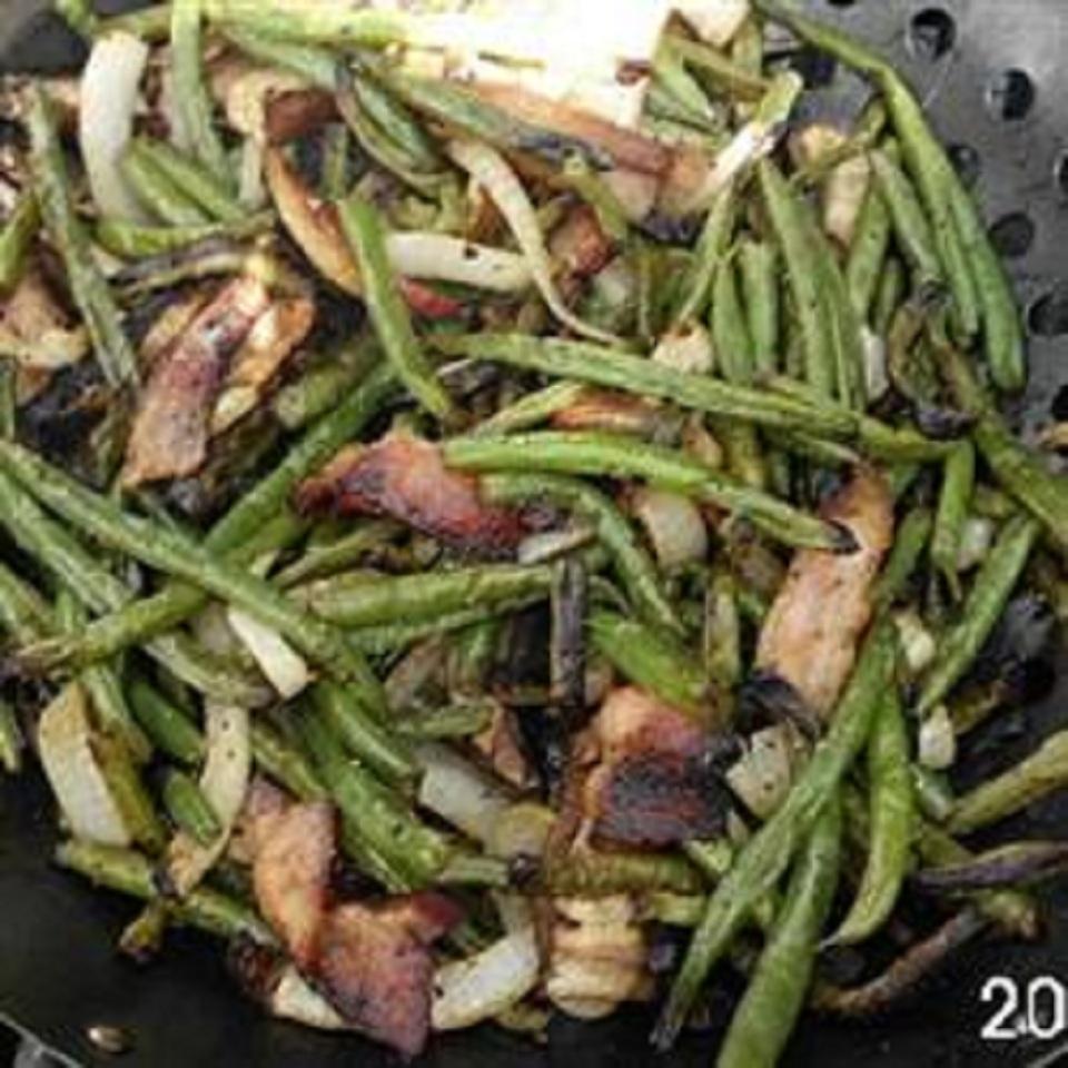 Grilled Fresh Green Beans Lynns Kitchen