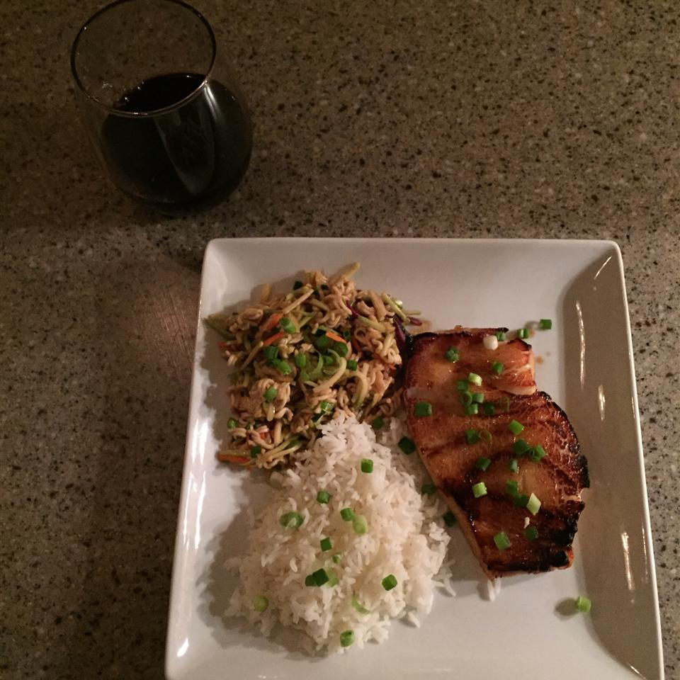 Miso and Soy Chilean Sea Bass Delana