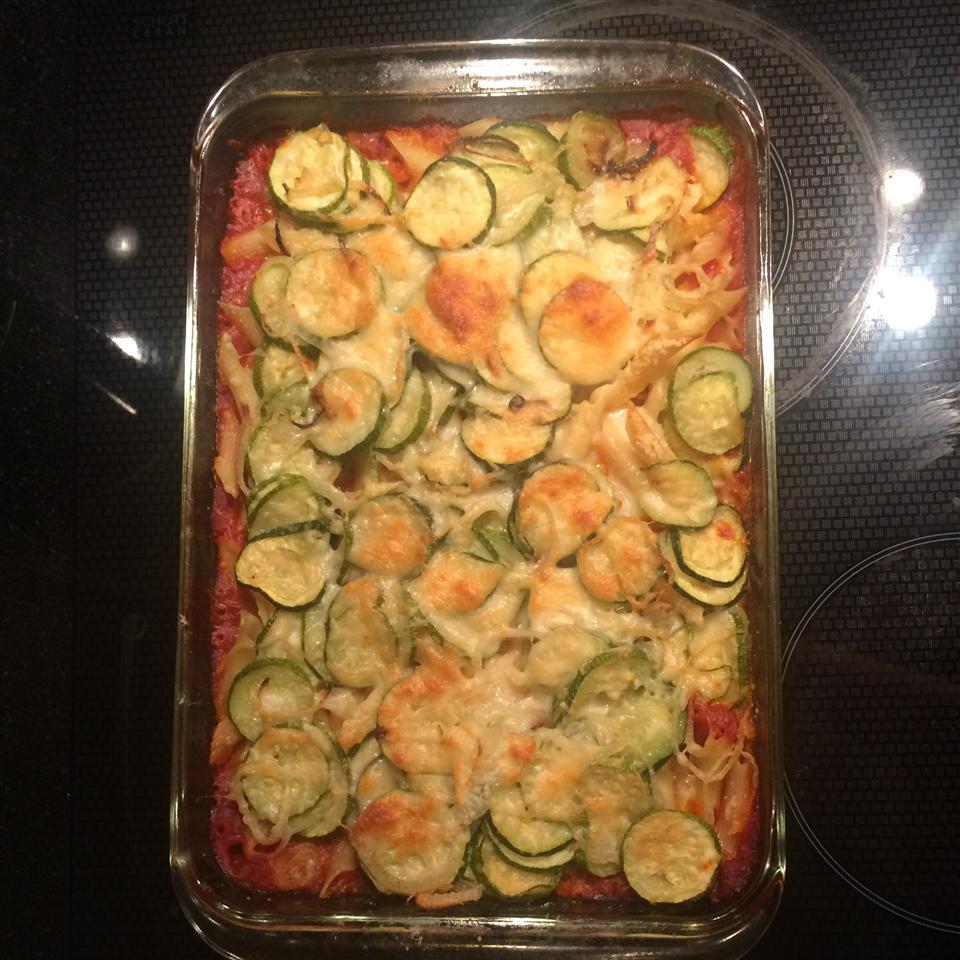 Roasted Zucchini Casserole housewife81