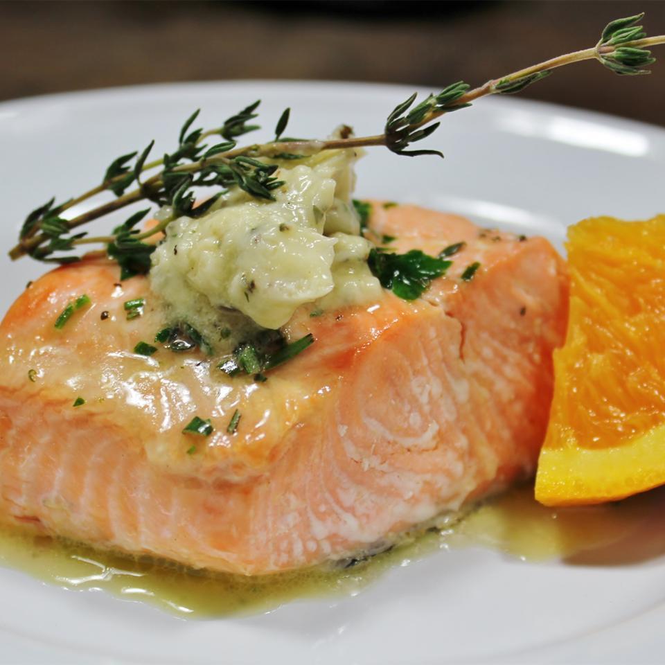 Herbed Citrus Salmon Aja