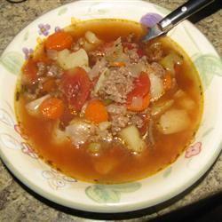 Vegetable Beef Soup II Kyle