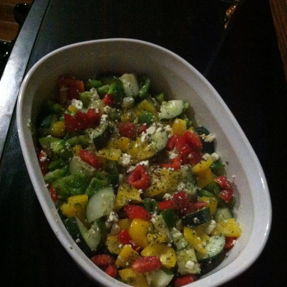 Summer Pepper Salad QueenButterfly