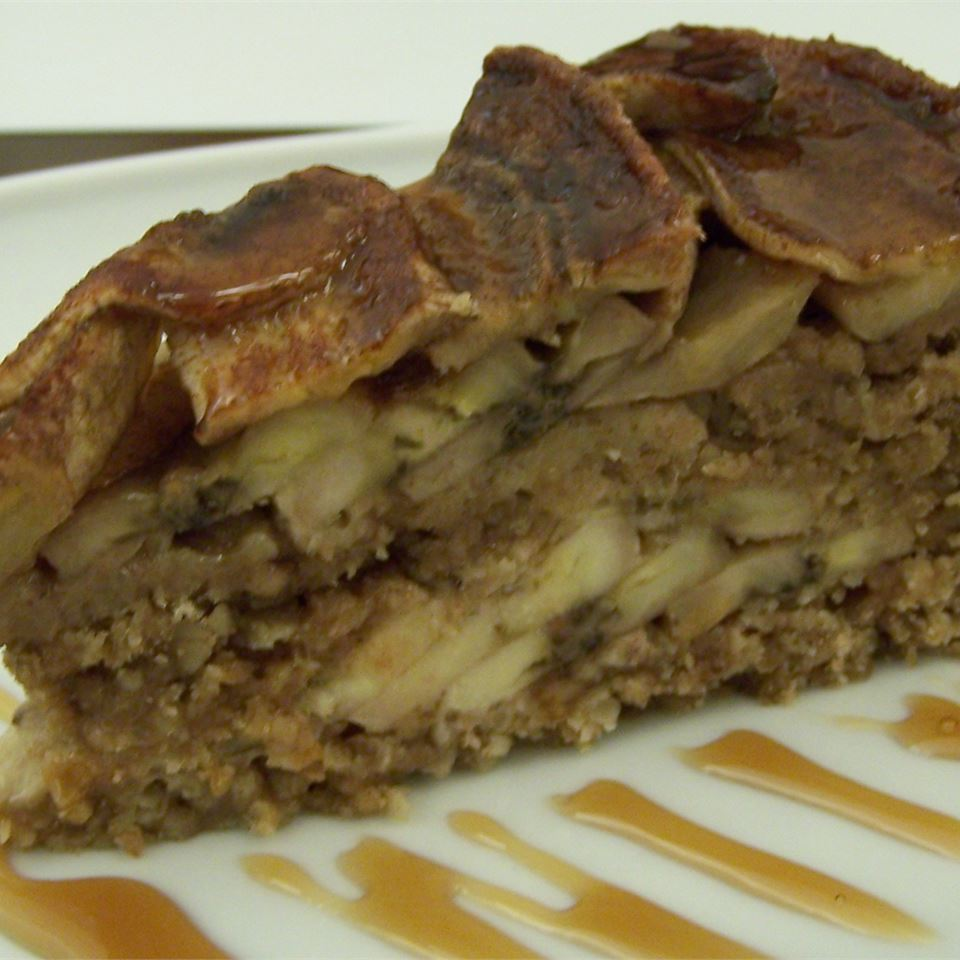 Brazilian Whole Banana Pie